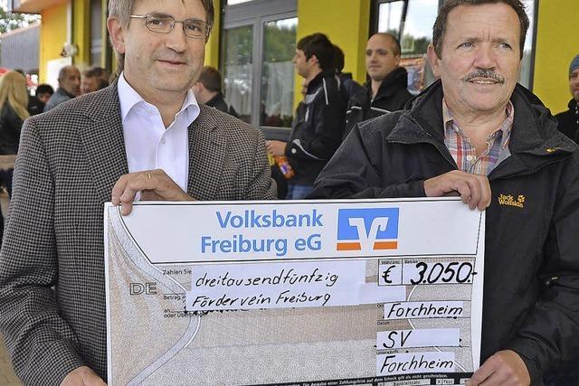 3050 Euro Spende nach Benefiztag