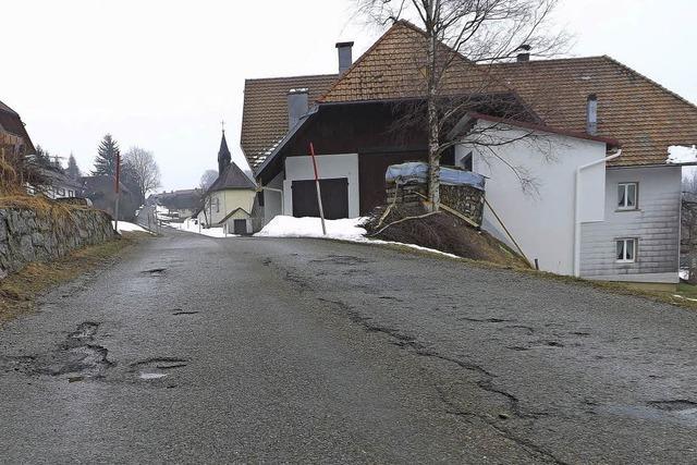 Sanierung der Bergstraße muss noch warten