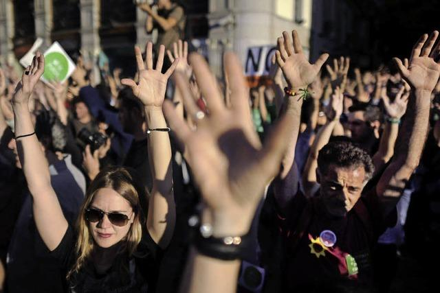 Seit zwei Jahren wird gegen die Sparpolitik demonstriert