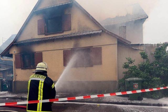 Brand in Willstätt: Lebensretter schwebt weiter in Lebensgefahr