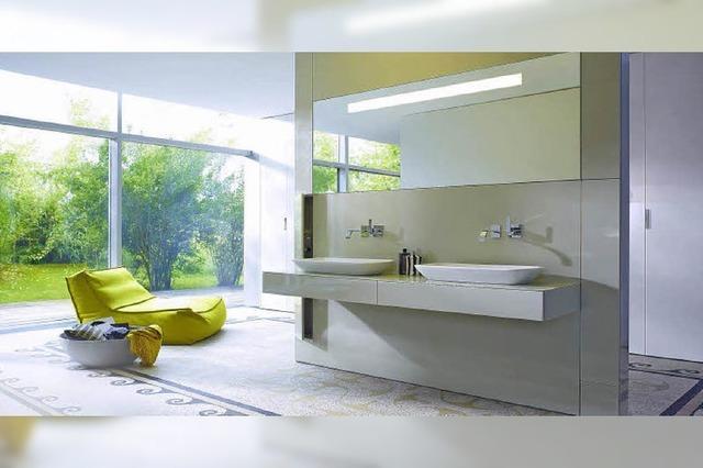 Das Bad entwickelt sich immer mehr zu einem Wohnraum
