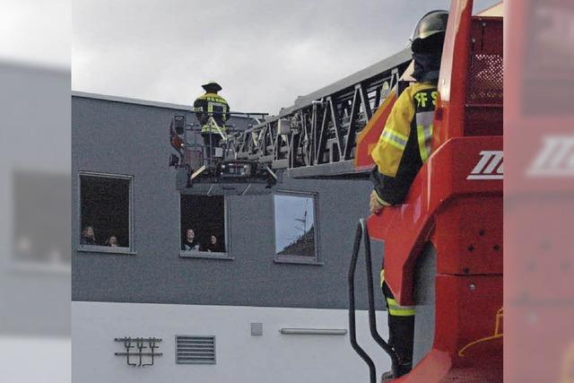 Gelungene Brandschutzübung