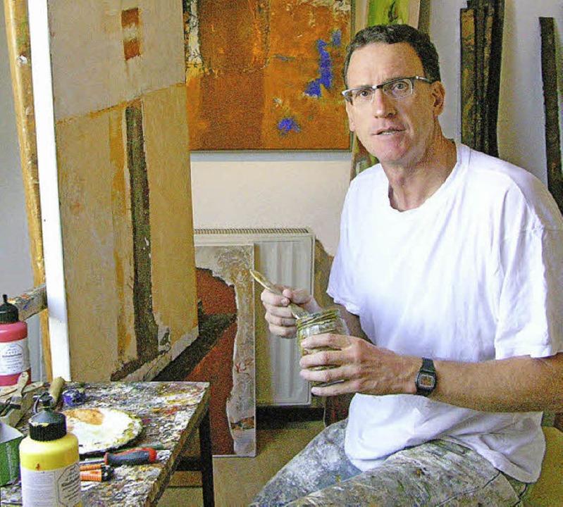 Pirmin Wilhelm Malere Kunstlehrer eröffnet eigene Produzentengalerei  | Foto: Privat