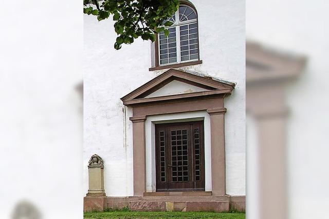 Forderung: ebener Zugang in Dorfkirche