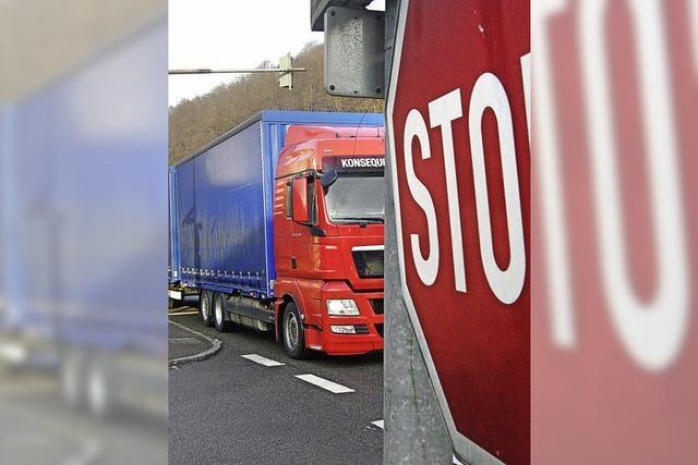 Von Dienstag an wird der Autobahnanschluss Mitte für neun Tage voll gesperrt