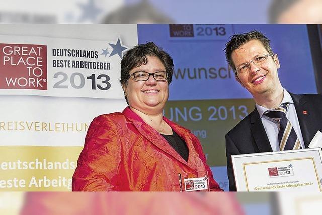 Vierte Auszeichnung in Folge für Roche