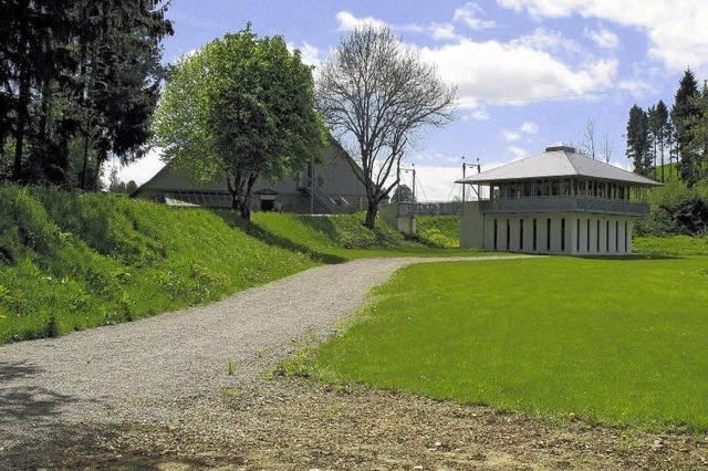 Eine Naturtribüne für das Römerbad