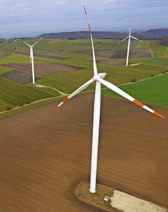 Noch ist nicht klar, wo im westlichen ... Windräder aufgestellt werden sollen.   | Foto: dpa
