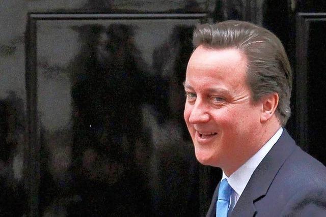 Tories tadeln die eigene Regierung um David Cameron