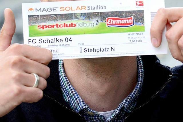Schwarzmarktpreise für Schalke-Tickets nerven den SC Freiburg