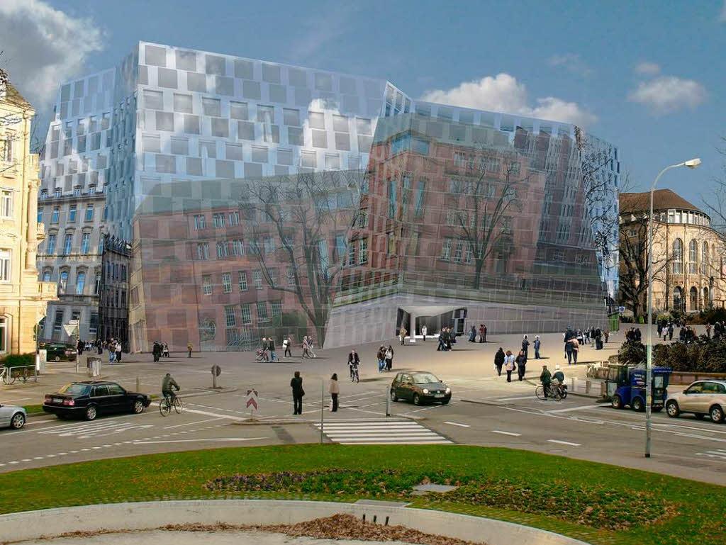 architekt degelo  erwarte keine negativen reaktionen auf die neue ub - freiburg