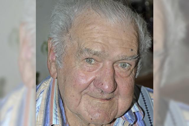 Johann Jenne ist 80 Jahre alt
