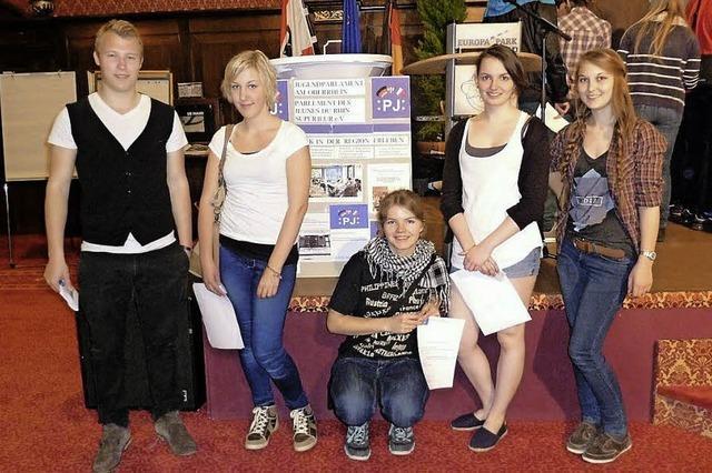 Die Jugend formuliert ihre Wünsche an die Politik