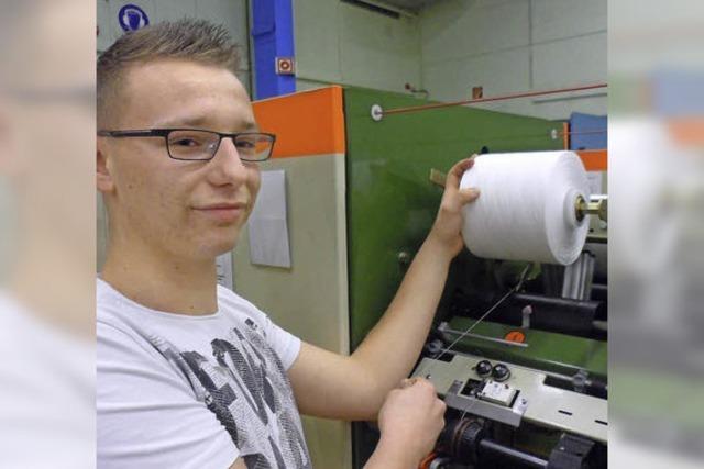 Ausbildungsberuf Produktionsmechaniker: Sören Winkler ist fingerfertig und geschickt