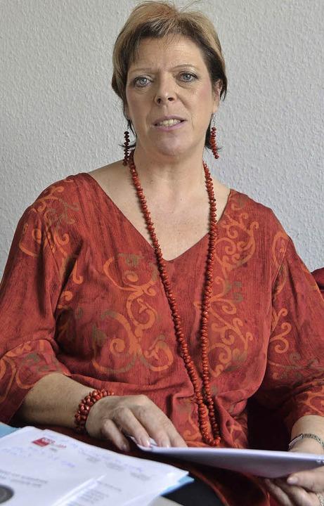 Sabine Wölfle beim BZ-Redaktionsgespräch  | Foto: Marius Alexander