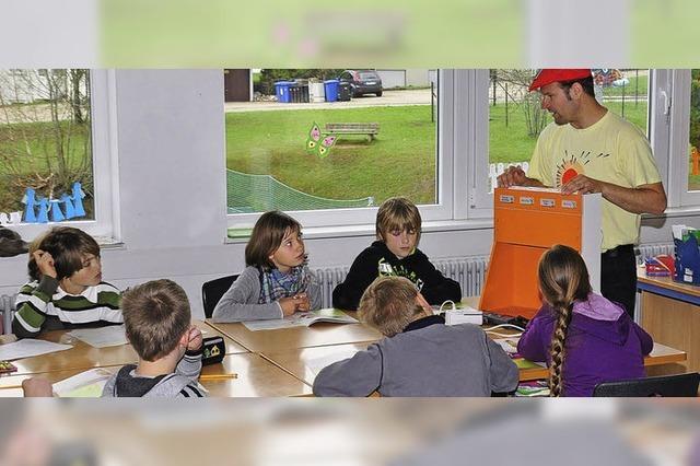 Schüler sind den Energiefressern auf der Spur