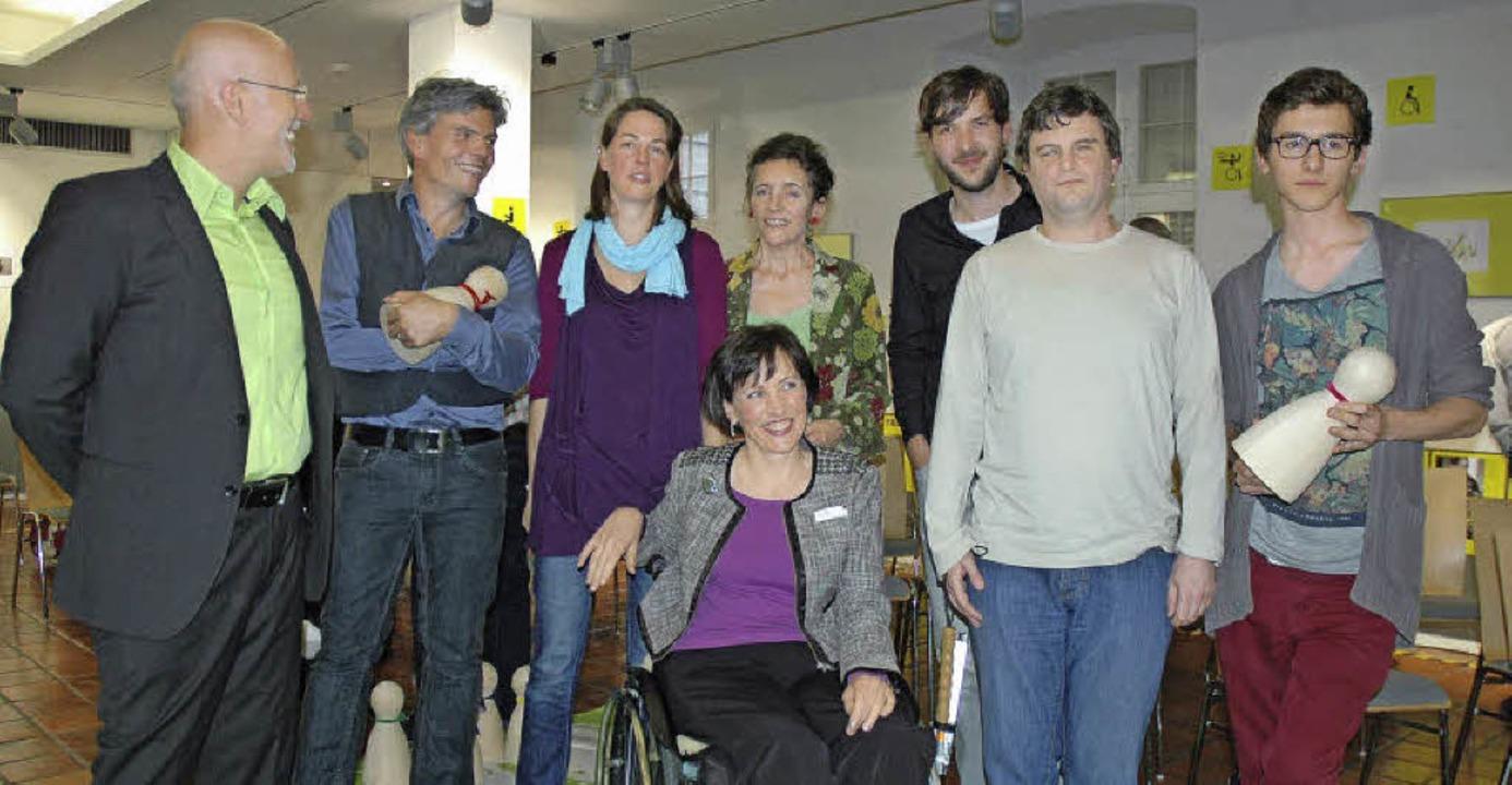 Martin Wundsam, Reiner Faller,  Maren ...ks) haben die Ausstellung erarbeitet.   | Foto: Wieschenkämper