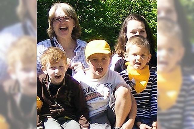 Kinderhort besucht den Zoo