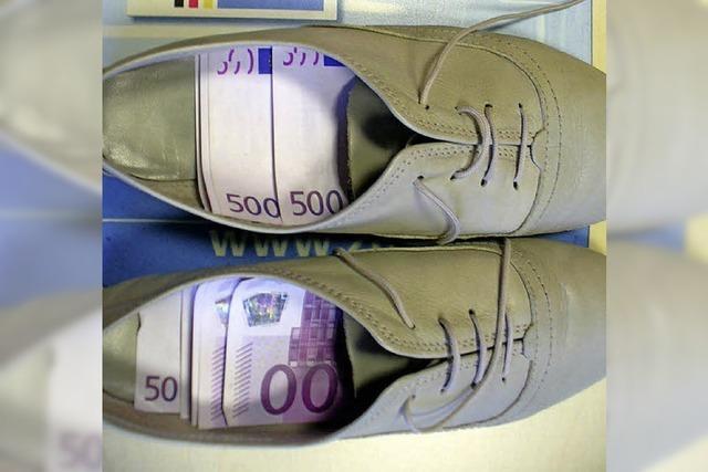 30 000 Euro in den Schuhen