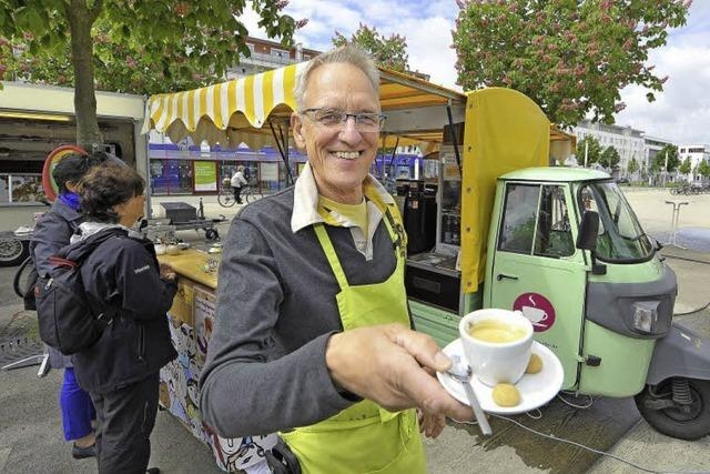 Günter Mantheys Kultmobil: Kultur macht den Kaffee kultig