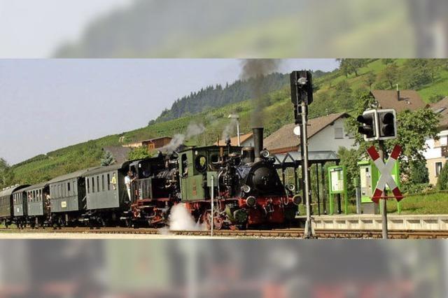 Historische Eisenbahnfahrten im Achertal nur noch bis Ende Juni