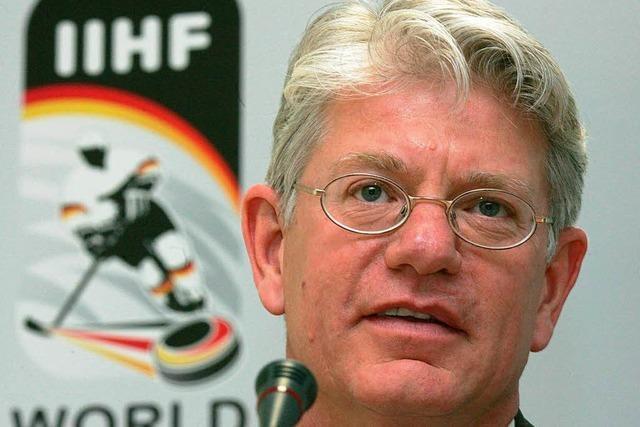 Eishockey: Gemeinsames Werben um eine WM