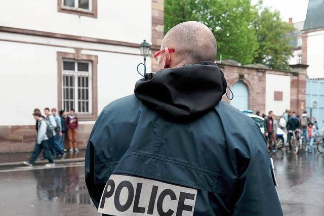 Amokalarm im Elsass – Polizei sichert Schulen