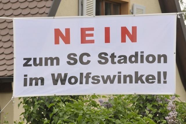 Bürgerinitiative gegen Stadion am Wolfswinkel gegründet