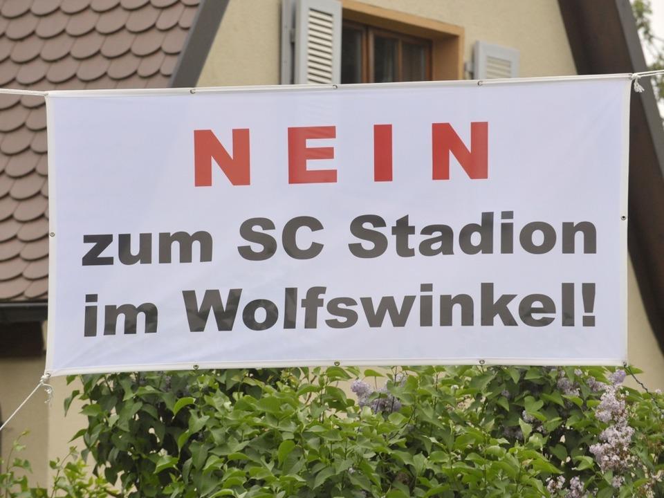 Die Bürger im Freiburger Stadtteil Mos...haben eine Bürgerinitiative gegründet.  | Foto: Michael Bamberger