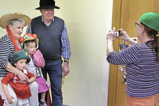 Oma-Opa-Tag zieht 90 Großeltern an