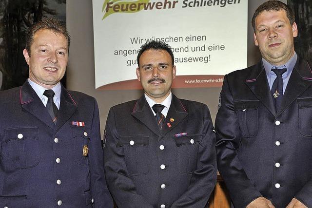 Neuer Kommandant für Schliengener Feuerwehr