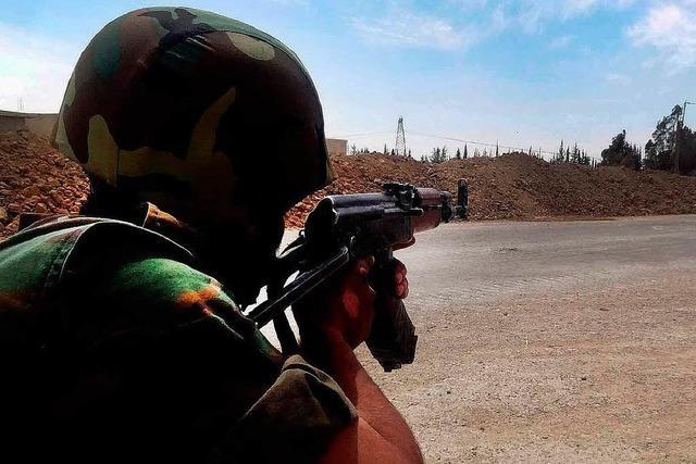 Syriens Rebellen geraten in die Defensive