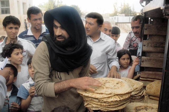 Die Hilfe für Syrien endet oft an der türkischen Grenze