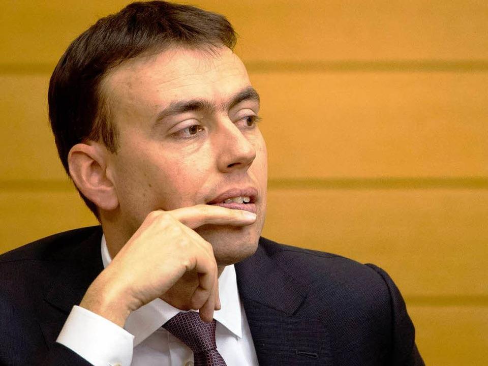 Nils Schmid, Finanzminister.    Foto: dpa
