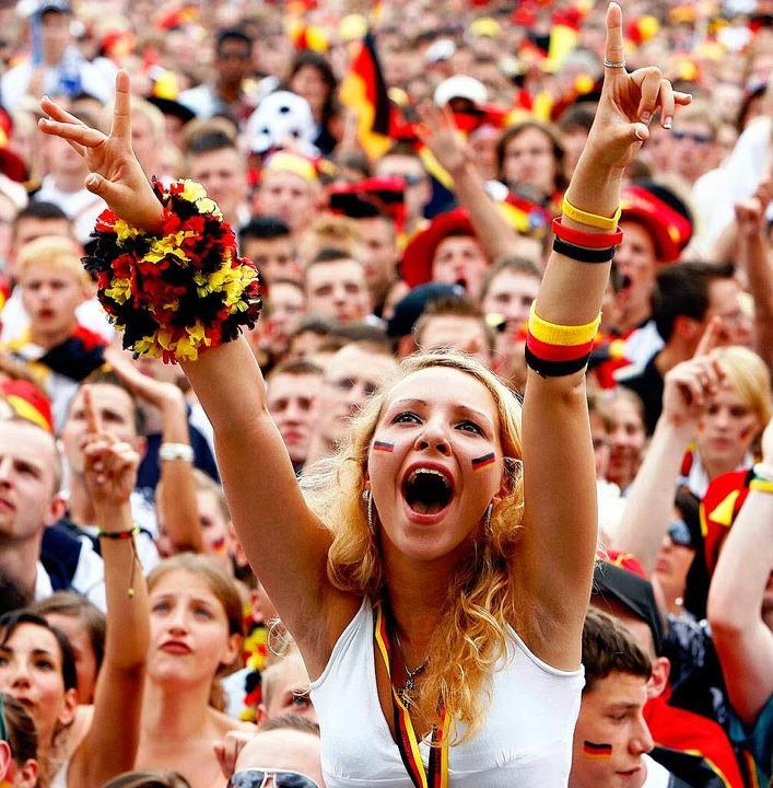 Die Fußball-WM hat das Bild der Deutschen verändert.   | Foto: DPA