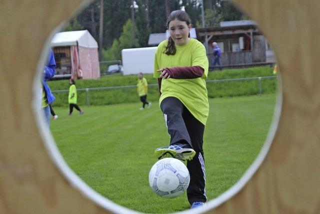 Mädchenfußball in Grafenhausen - Training für Körper und Soft Skills
