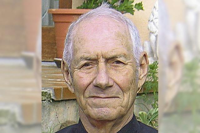 Erich Johner feiert seinen 85. Geburtstag