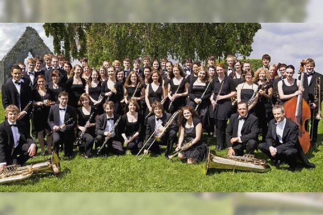 Verbandsjugendorchester des Blasmusikverbandes Hochrhein spielt in Todtmoos