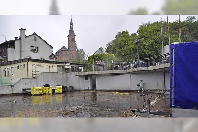 Ampel regelt Fahrt in die Altstadt