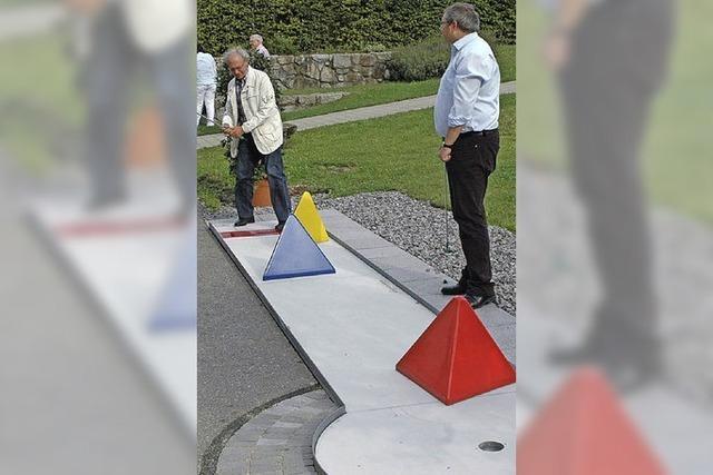 Golfgelände beim Schloss nun Gemeinderatsthema
