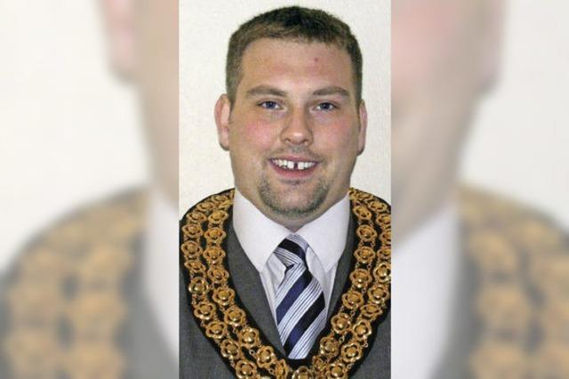 Matthew Fields ist neuer Bürgermeister von North Hykeham
