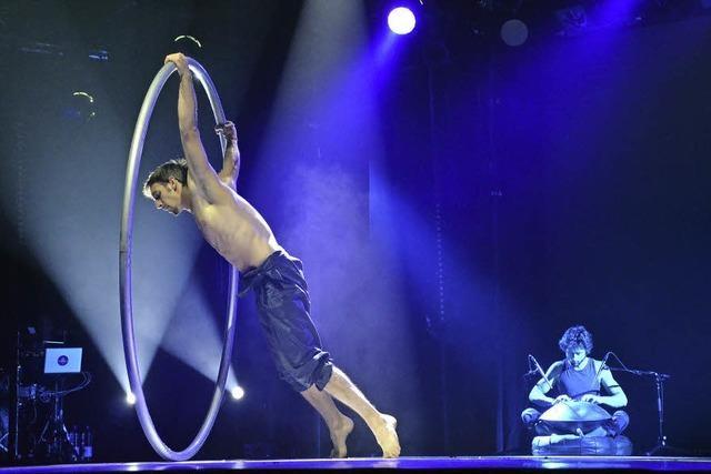 Das Young Stage-Zirkusfestival beginnt