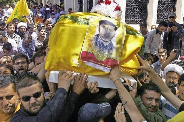 Im benachbarten Libanon droht erneut Bürgerkrieg