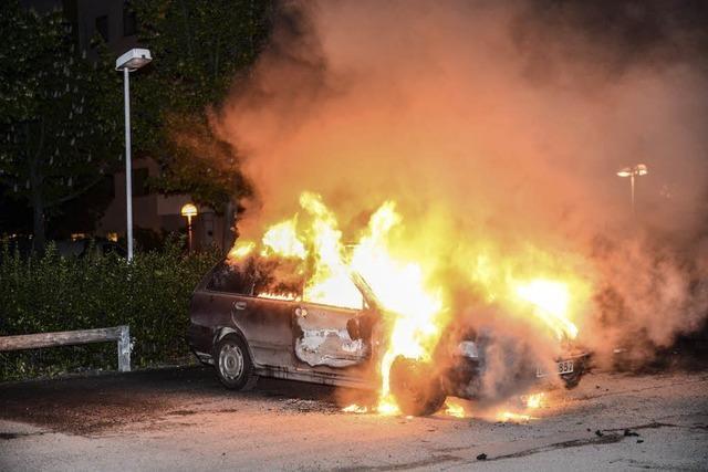 Stockholm erlebt sechste Nacht der Gewalt