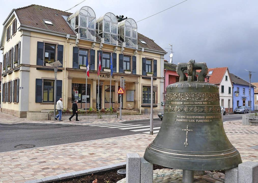 Knapp 25 Kilometer von Hartheim entfer...ergemeinde im französischen Fessenheim    Foto: Susanne Müller