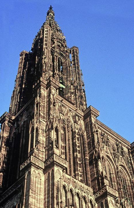 Blickfang in Straßburg: das Münster  | Foto: gms