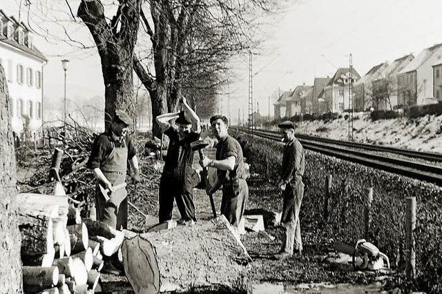 Im Sommer 1963 musste die Elztalstrecke für Lastwagen gesperrt werden