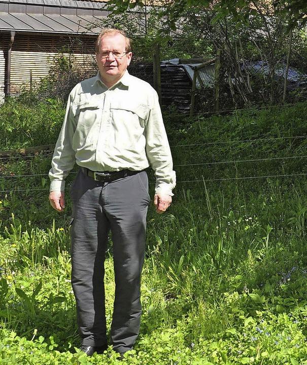 Nach über 40 Jahren im Dienst der staa...ht Karl-Heinz Knaupp in den Ruhestand.  | Foto: Rainer Ruther