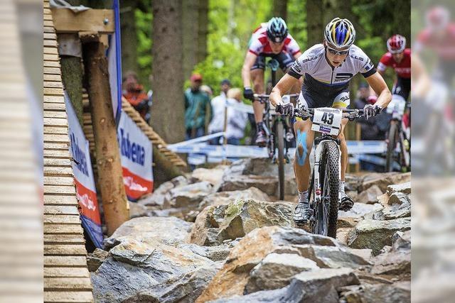 Weltcup in Nove Mesto: Krampfgeplagt über Stock und Stein
