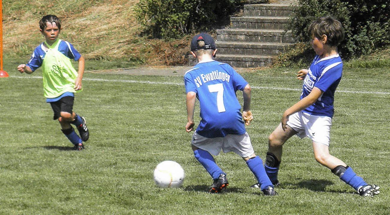 Die Kooperation mit anderen Vereinen e...skickern den altersgerechten Einsatz.     Foto: SVE